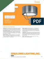 Spaulding Lighting Essex Spec Sheet 4-86