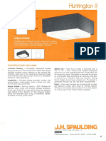 Spaulding Lighting Huntington II Spec Sheet 6-77