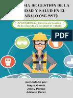 El Sistema de Gestión de La Seguridad y Salud en El Trabajo (SG-SST) CARTILLA