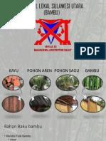 Sejarah Dan Material Bambu