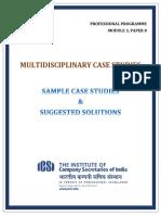 Sample Case Studies Mcs
