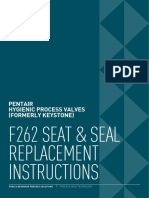 Stainless-Steel-Ball-Valves F262 Pentair Seat Seal Replacement