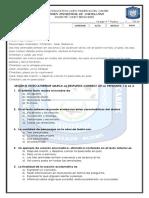Examen Trimestral de Castellano Cuarto