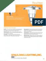 Spaulding Lighting Peachtree Spec Sheet 4-86