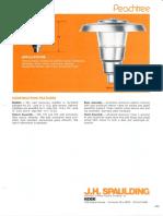 Spaulding Lighting Peachtree Spec Sheet 6-77