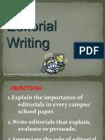 Editorial Writing Presentation 1