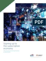 Subscription Economy Summary