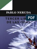 Neruda, Pablo - [Trilogia Odas Elementales 03] Tercer Libro de Las Odas