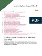 Los Microorganismos pdf