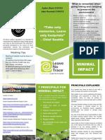 minimal impact guide