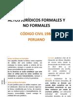 04.2019.II. Actos Jurídicos Formales y No Formales