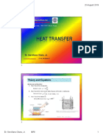 Heat Transfer Review Notes