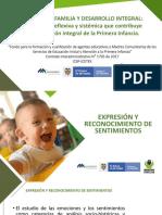 m2 - p1 Expresiones y Reconocimiento de Sentimientos - Familias Entornos Nutricios