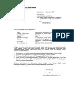 Contoh Surat Lamaran Cpns Umum