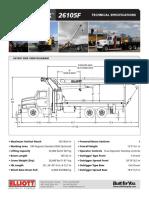 ELLIOTT 26105F Spec Brochure