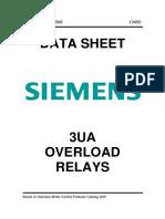 Siemens 3UA Overload Relays