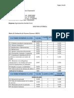 SEGUNDA ENTREGA, Diagnostico Empresarial