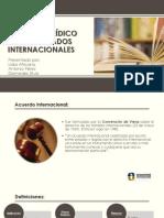 RÉGIMEN JURÍDICO DE LOS TRATADOS INTERNACIONALES