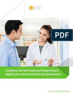 Continued Dispensing Guidelines