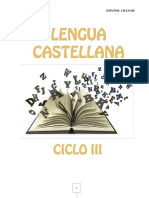 Lengua Castellana Ciclo III