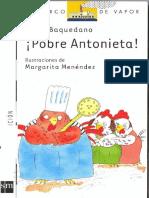 Pobre Antonieta Baquedano Lucia -