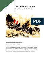 La Epica Batalla de Tacna(5)