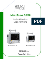 Mennmove 50.70 Patient Monitor User Manual