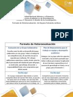 7 Heteroevaluación Formato DayannaCardona