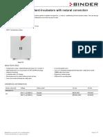 Data Sheet Model BD 720 En