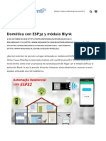 Automação Residencial Com Módulo ESP32 e Blynk _ Arduino e CIA