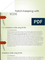 4. Watch-Keeping With ECDIS