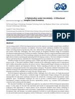 SPE 187856 Brownfield Development Optimization under Uncertainty