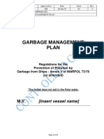 2. Garbage Management Plan (Rev.5)