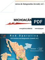 Cij, 2018, Situación Actual Del Consumo de Drogas en El Estado de Michaocan.