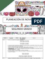 01 Noviembre - 2do Grado 2019-2020