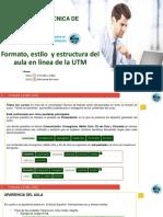 1. Formato, estilo  y estructura del aula en línea de la UTM.pdf