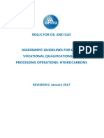 Assessment Guidelines for Processing Operations Hydrocarbons VQ