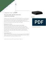 Polycom Trio™ Visual+ realpresence-trio-visual-data-sheet-enus
