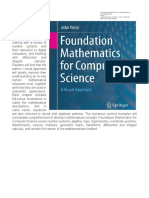Fundamentals of Mathematics for Computer Science Course Outline