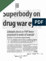 Manila Standard, Oct. 23, 2019, Superbody on drug war eyed.pdf