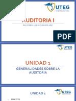 UNIDAD 1 Generalidades Auditoria