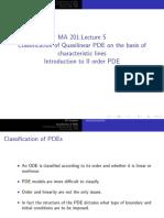 MA 201 (2019)-PDE-Lecture-5