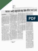 Philippine Star, Oct. 23, 2019, Nurses salary upgrade may take effect next year.pdf