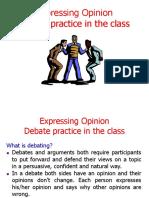 Week 11 - Expressing Opinion & Debate.ppt