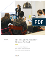 Google Data Driven Marketers Strategic Playbook