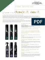 L'Oreal Paris Advanced Hairstyle