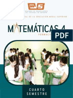 Libro Matematicas 4 SONORA 2017