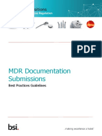Bsi Md Mdr Best Practice Documentation Submissions en Gb