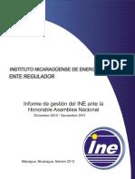 Informe INE an 2011