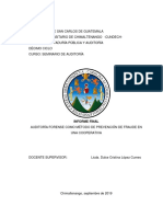Informe final auditoria